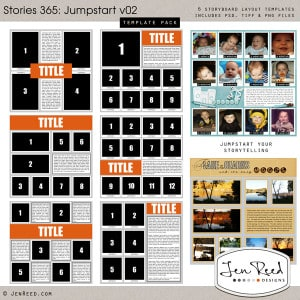 Jumpstart Storytelling Templates